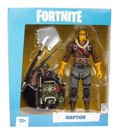 Fortnite - Figura 7 De Colección Con Accesorio Y Base Raptor