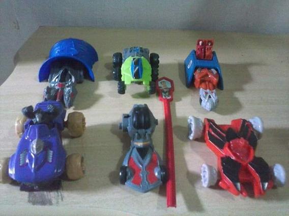 Coleção Completa Mcdonalds Hot Wheels Battle Force 5 2012