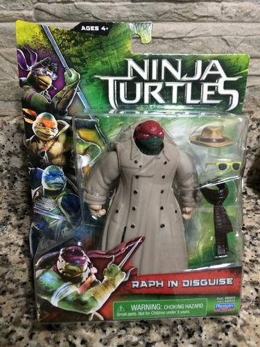 Tortugas Ninjas De La Película De 11cm (aliados Y Enemigos)