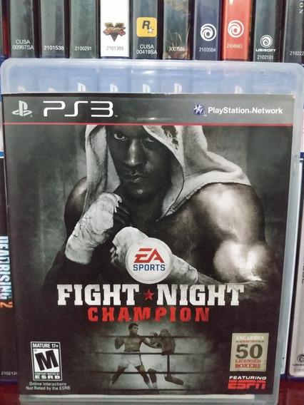 Fight Night Champion Ps3 Completo   Parcelamento Sem Juros
