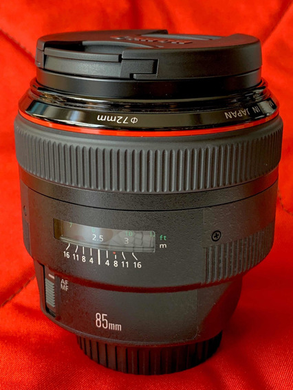 Lente Canon Ef 85mm F 1.2 L Ii Usm Nova