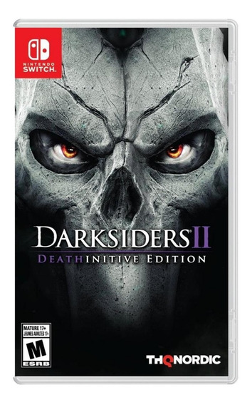 Darksiders 2 Deathinitive Edition - Mídia Física Novo Switch