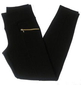Kit 4 Calças Legging Montaria Gorgurão Com Cores Sortidas