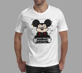 Camiseta Mickey - Branca
