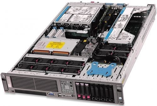 Servidor Hp Proliant Dl380 G5 2x Xeon 146gb 10k Pm 8gb Ram Usado