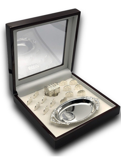 Arras Matrimoniales En Plata Lam Estuche Caoba Unity Coins