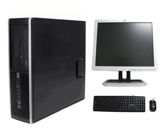 Computador Hp Elite 8200 I7 4gb 320gb Monitor 17 Polegadas