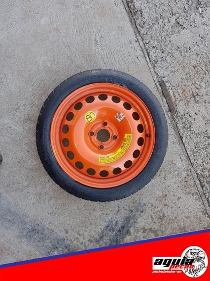 Estepe Chevrolet Onix Furação 4x100 Original Pneu Novo