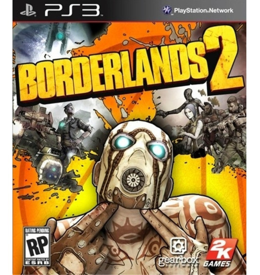 Borderlands 2 - Psn Ps3 Play 3 Pronta Entrega