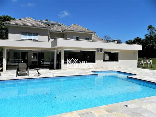 Casa Com 4 Dormitórios À Venda, 542 M² Por R$ 3.750.000,00 - Fazenda Vila Real De Itu - Itu/sp - Ca1969