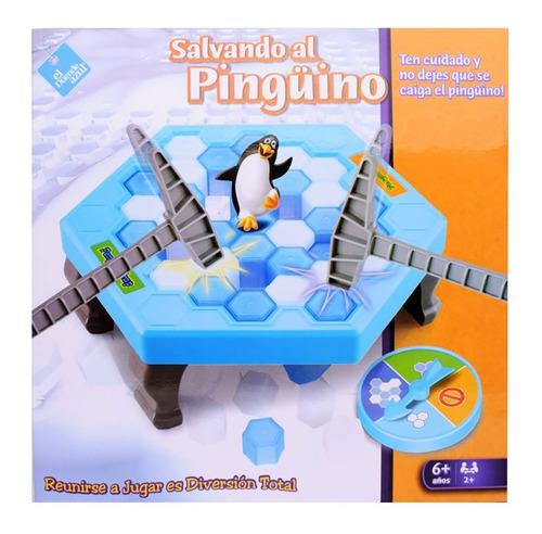 Imagen 1 de 7 de Juego Salvando Al Pinguino El Duende Azul  6216 Bigshop
