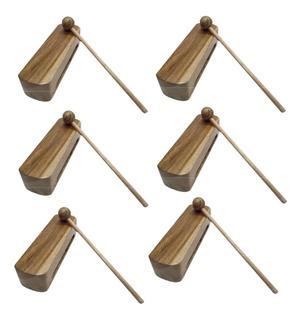 Combo X 6 Caja China - Instrumento De Percusión Mafego