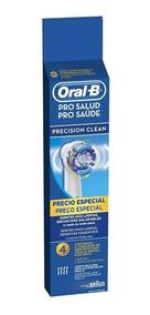 Refil Escova Elétrica Oral-b Precision Clean C/4 Unidades