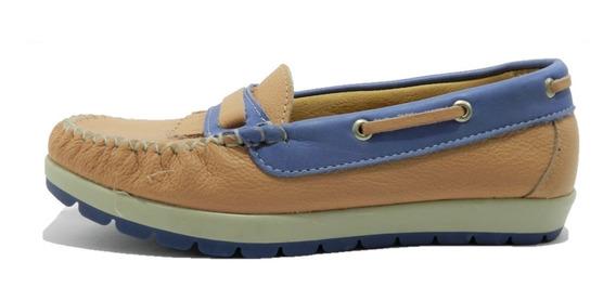 Zapatos Kaprise Mocasines Cuero 5749