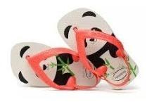 Chinelo Havaianas New Baby C/ Elástico Panda Original