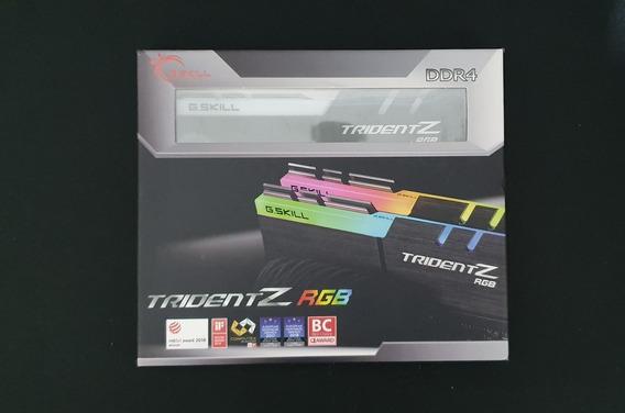 Memórias Ddr4 G.skill Tridentz Rgb 2x8gb 3000mhz