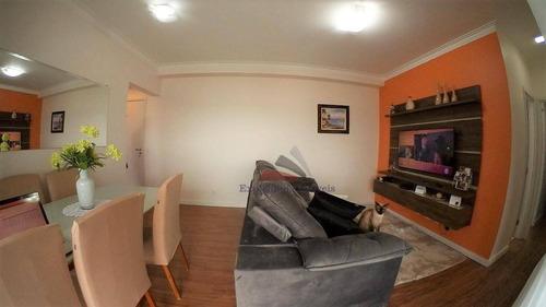 Apartamento Com 2 Dormitórios À Venda - Vila Mogilar - Mogi Das Cruzes/sp - Ap0058
