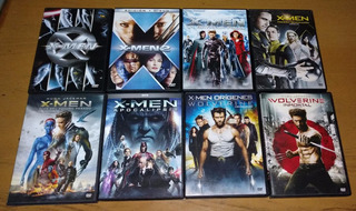 X-men Coleccion 8 Dvd Originales Wolverine