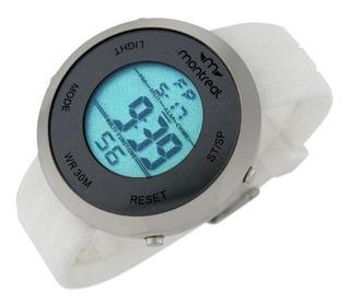 Reloj Montreal Unisex Ml612 Luz Led Sumergible Envío Gratis