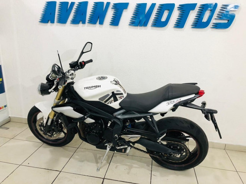 Street Triple 675 2017 Branca Impecável Manual Chave Reserva