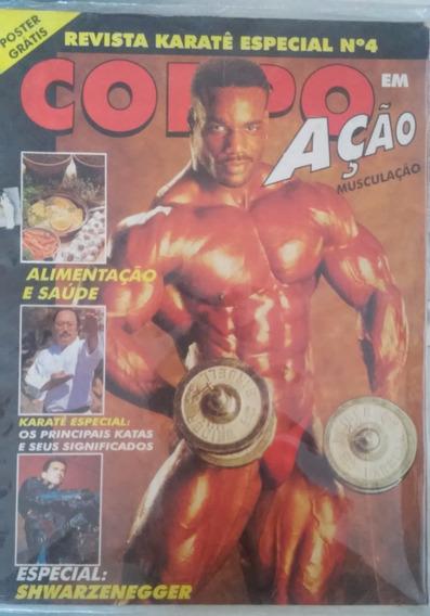 Revista Corpo Em Ação Nº 04 + Pôster Schwarzenegger E Conan