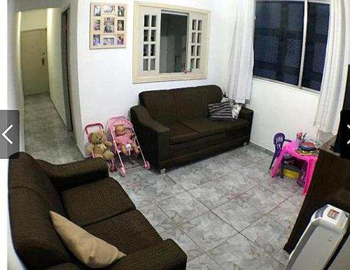 Apartamento Com 2 Dorms, Centro, São Vicente - R$ 205 Mil, Cod: 536 - V536