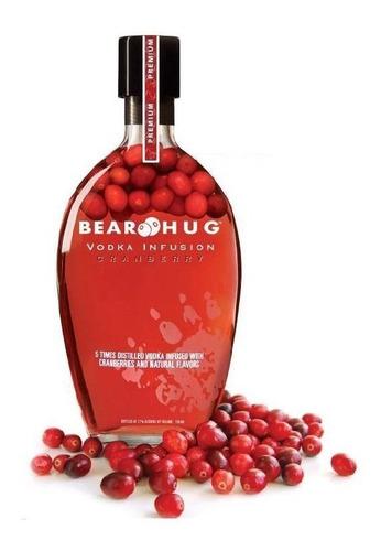 Vodka Bear Hug Infusion Cranberrys 1000ml