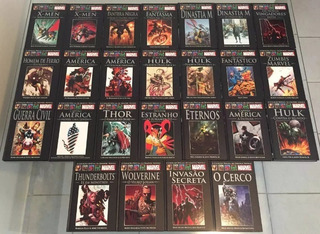 Salvat Marvel Graphic Novels Hq Capa Dura Valor Unitario