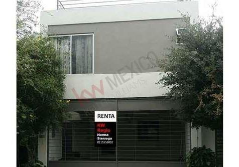 Casa En Renta Cerradas De Anahuac En La Zona Sendero