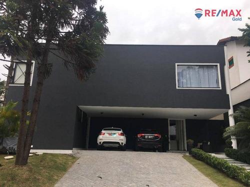 Imagem 1 de 15 de Casa Com 5 Dormitórios À Venda, 450 M² Por R$ 2.830.000,00 - Alphaville 03 - Santana De Parnaíba/sp - Ca1954