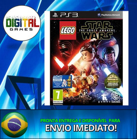 Lego Star Wars The Force Awakens - Ps3 - - Português !!