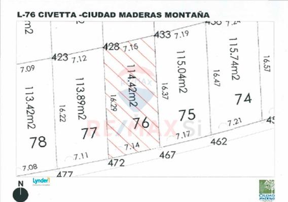 Terreno Venta Ciudad Maderas