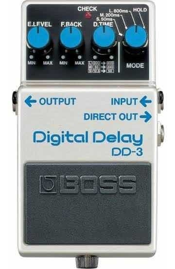 Pedal Boss Digital Delay Dd3