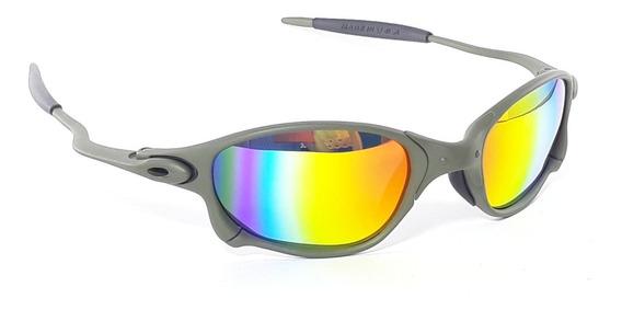 Óculos Oakley Juliet Double Xx Metal Arco Iris Penny Lupa