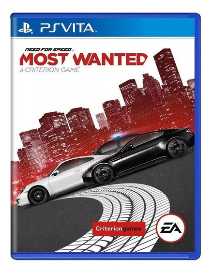 Need For Speed Most Wanted Ps Vita Mídia Física