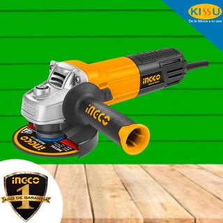 Amoladora Esmeriladora Ingco 4 1/2 950w 11000 Rpm + Disco