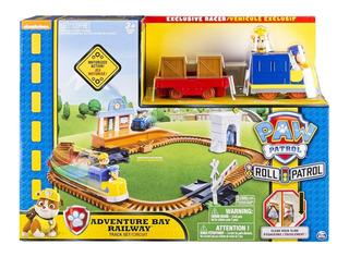 Paw Patrol - Adventure Bay Railway Pista De Tren