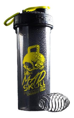 Imagen 1 de 5 de Shaker Mad Skull Design Vaso Gym Caramañola 750 Ml Bpa Free