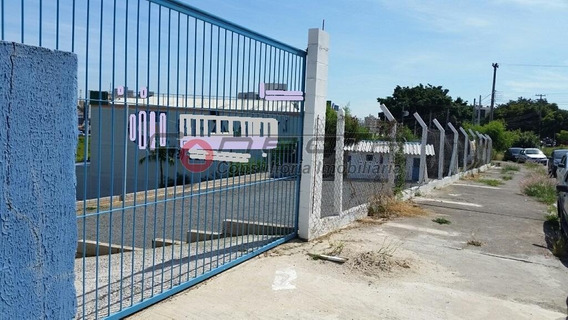 Terreno Industrial Para Locação, Jardim Do Trevo, Campinas - Te0096. - Te0096