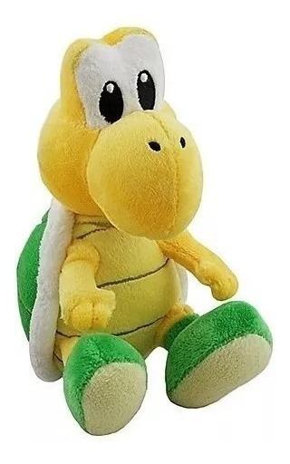 Pelúcia Koopa Troopa 15 Cms - Super Mario Bros- Nintendo