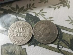 2 Moedas De 400 Reis 1929