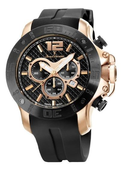 Relógio Cronografo Jean Vernier Jv2112