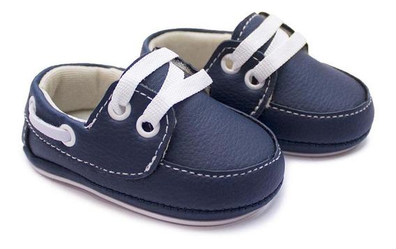 Sapato Masculino Mocassim Bebê Clacle Com Cadarço Festa