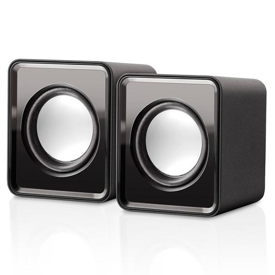Caixa De Som Mini 2.0 3w Rms Bivolt Usb Sp151 Multilaser