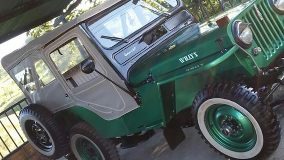 Jeep Willys Tapa Baja, 1946.