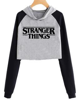 Buzo Corto Stranger Things Logo