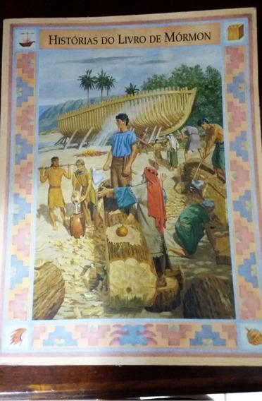 Histórias Do Livro De Mórmon -infantojuvenil Com Ilustrações