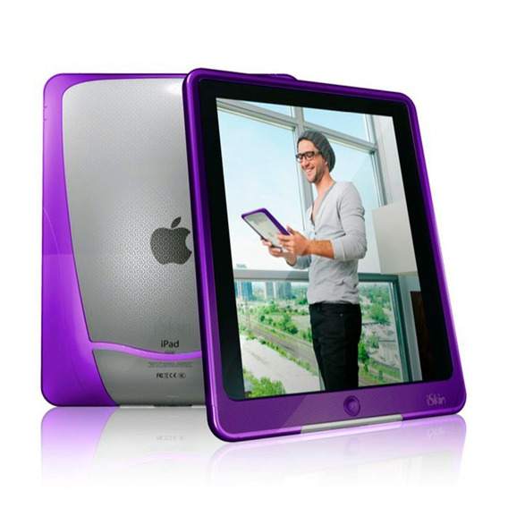Case De Transporte Iskin Vu Roxo iPad 2 Pronta Entrega