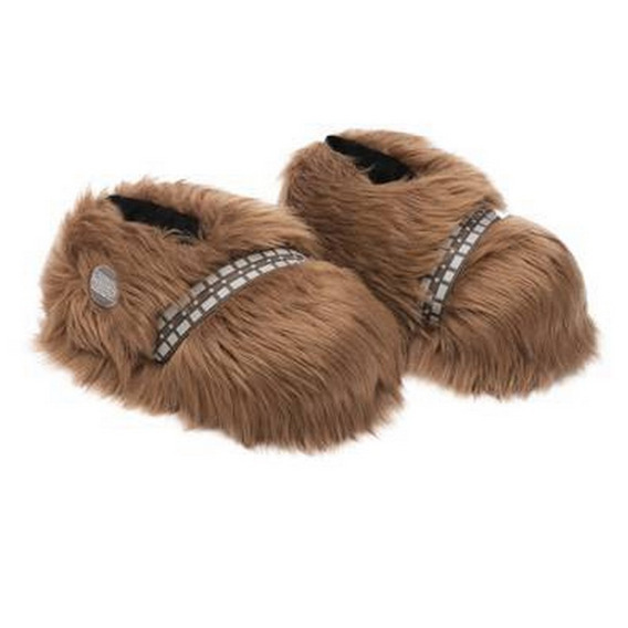 Pantufa Chewbacca Star Wars 3d Sola De Borracha