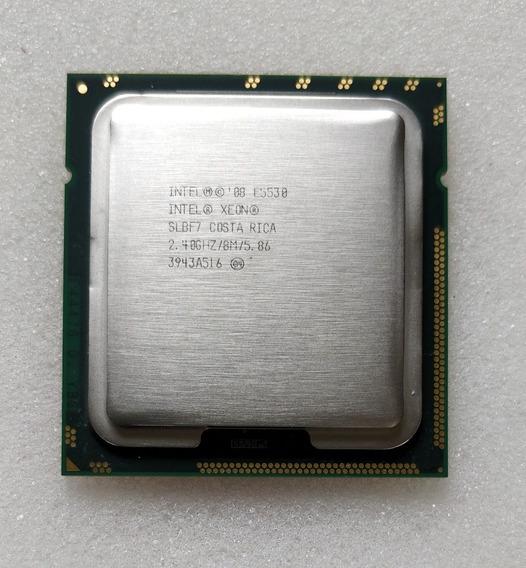 Intel Xeon E5530 Quad Core 2.40ghz/8m/5.86gt/s Qpi Semi Novo